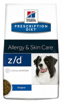 Ветеринарный корм Hill's Prescription Diet Z/D Canine Ultra Allergen-Free для собак лечение острых пищевых аллергий 3кг