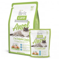 Корм Brit Care Cat Angel I`m Delighted Senior для пожилых кошек 400гр
