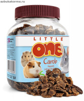 Little One Carob лакомство для грызунов Плоды рожкового дерева 200г