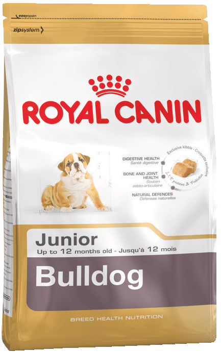 Bulldog junior корм royal canin